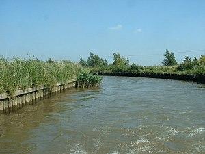 River Chet - Image: River Chet geograph.org.uk 190325