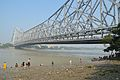 River Hooghly & Howrah Bridge - Ram Chandra Goenka Zenana Bathing Ghat - Kolkata 2012-10-15 0782.JPG