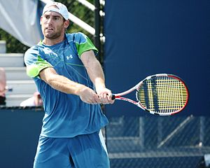 Robby Ginepri - Image: Robby Ginepri at the 2010 US Open 04