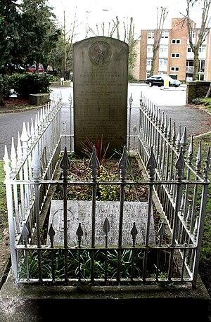 Robert FitzRoy - Robert FitzRoy's grave