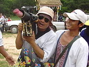 Rocket Festival Cameraman Shoots