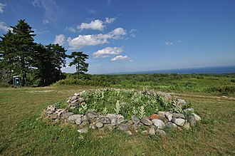 National Register of Historic Places listings in Knox County, Maine - Image: Rockport ME Beech Hill Preserve Mystery Stone Ring