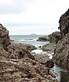 Rocky inlet north of Pentireglaze Haven - geograph.org.uk - 1468426.jpg