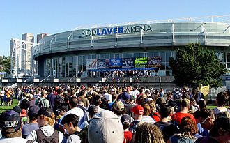 2011 Australian Open - Rod Laver Arena where the Finals of the Australian Open took place.