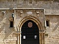 Rodi, museo archeologico, ingresso su odos ippoton con stemmi cavalieri ed emery d'amboise.JPG