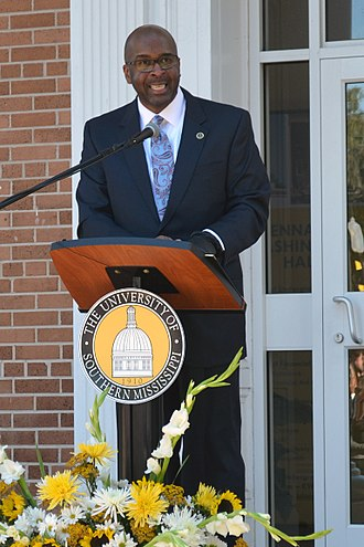 Rodney D. Bennett - Bennett at the unveiling of the Clyde Kennard Freedom Trail marker, February 2, 2018