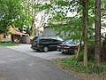 Rogers Street South 212, The Owlery parking area, Bloomington West Side HD.jpg