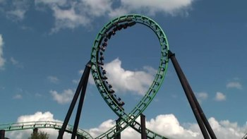 ファイル:Roller coaster vertical loop.ogv