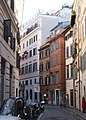 Rom, die Straße Via dei Banchi vecchi.JPG