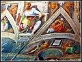Roma,Basil.Di S.Pietro-Particol.della Cappella Sistina - panoramio.jpg