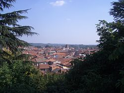 Romagnano Sesia Veduta da Villa Caccia.JPG