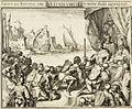 Romeyn de Hooghe - Innemen van Damiaten 1188 en nieuw Stads wapenschild, 1688.jpg