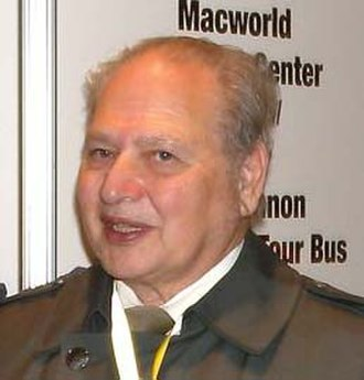Ronald Wayne - Wayne at Macworld 2009