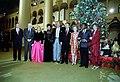 Ronald Reagan and group at 1982 Christmas in Washington taping.jpg