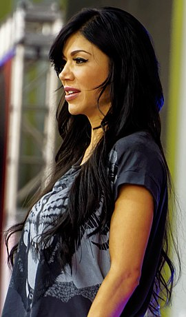 Rosa Mendes At WrestleMania Axxess in March 2015.jpg