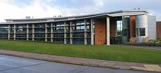 Rothamsted Manor - The Centenary building at Rothamsted Research, Rothamsted Manor, finished in 2003