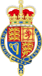 Royal Arms of the United Kingdom (Crown & Garter).svg
