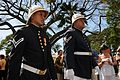 Royal Guard members participate in the 2010 Inaugural Ceremony and Celebration held at Iolani Palace (5245435875).jpg