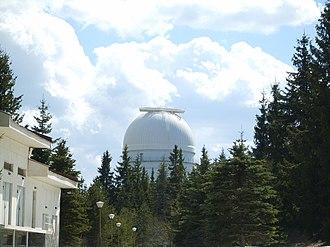 Rozhen Observatory - Image: Rozhen dome