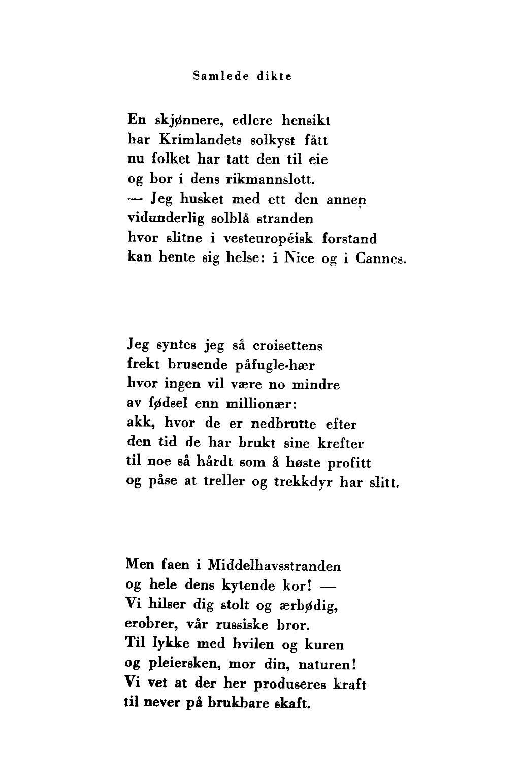 dikt om lykke