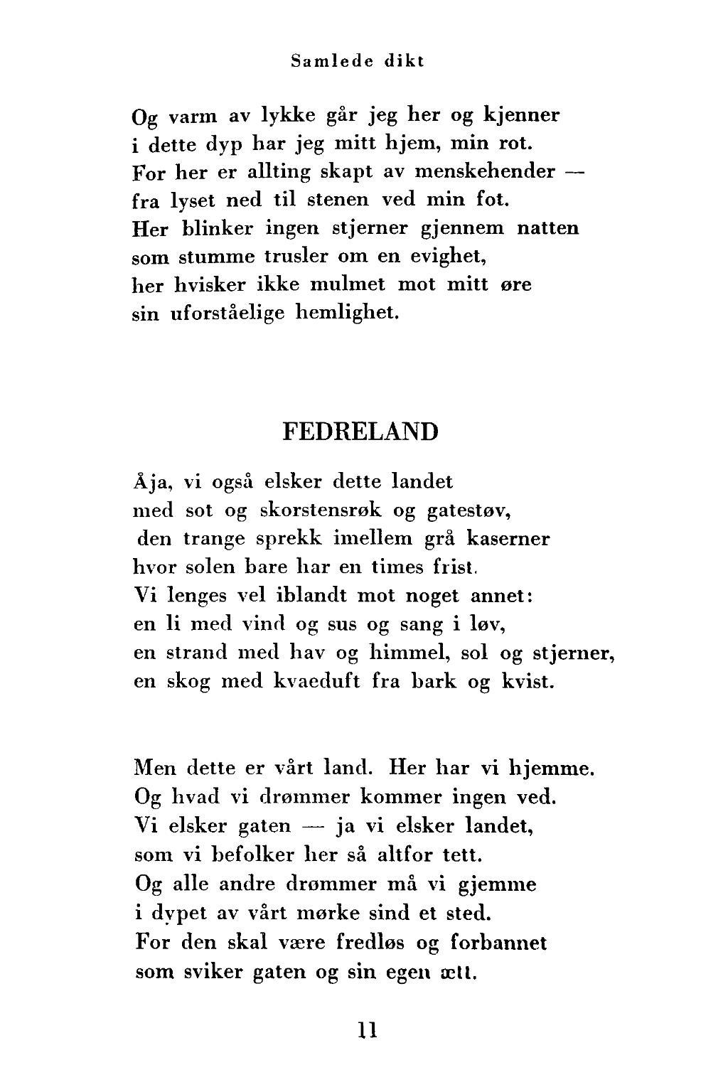 dikt om sol