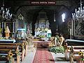 Rudziniec, kościół św. Michała Archanioła, wnętrze, widok w stronę ołtarza.JPG
