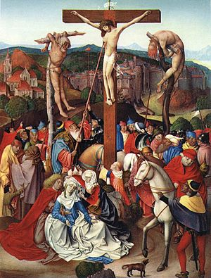 Rueland Frueauf the Younger - Crucifixion by Rueland Frueauf the Younger, 1496