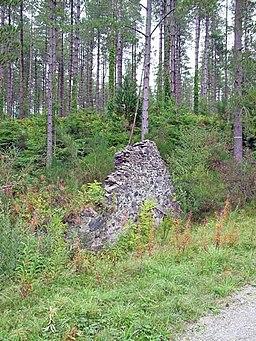 Ruin in Newborough Forest - geograph.org.uk - 226521
