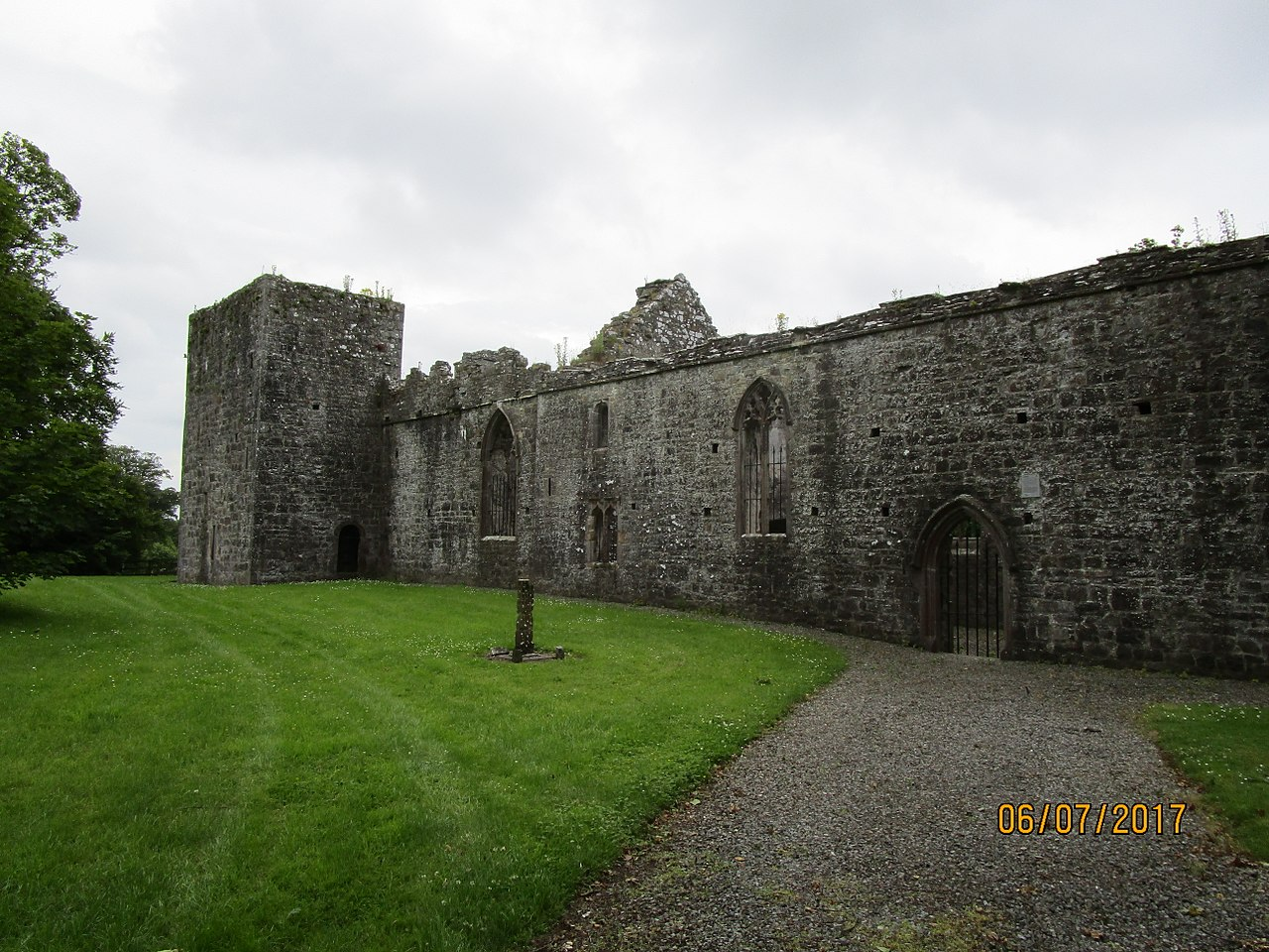 ruined church at Killeen Castle