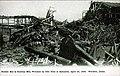 Ruins of Bunker Hill and Sullivan Mill after explosion near Wardner, Idaho, April 29, 1899 (AL+CA 1627).jpg