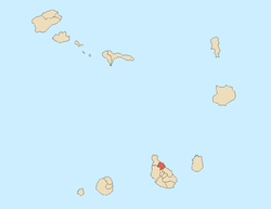 Location of São Miguel
