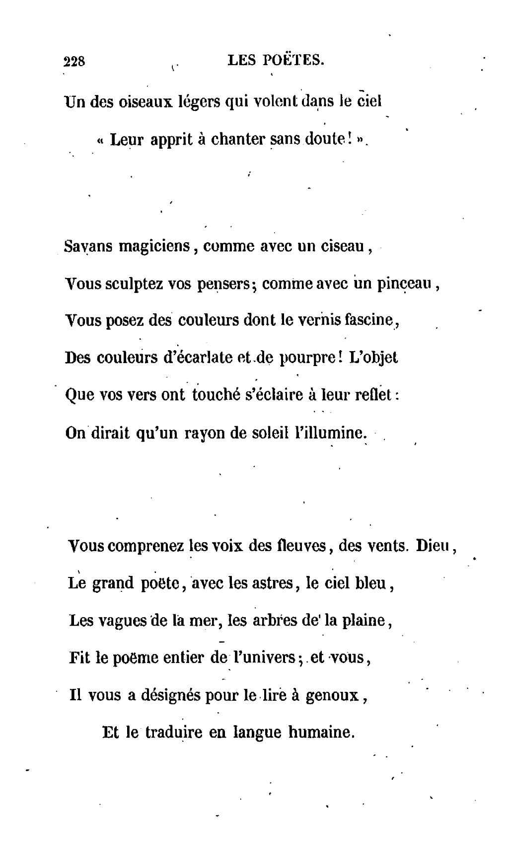 Pageségalas Les Oiseaux De Passage 1837djvu230