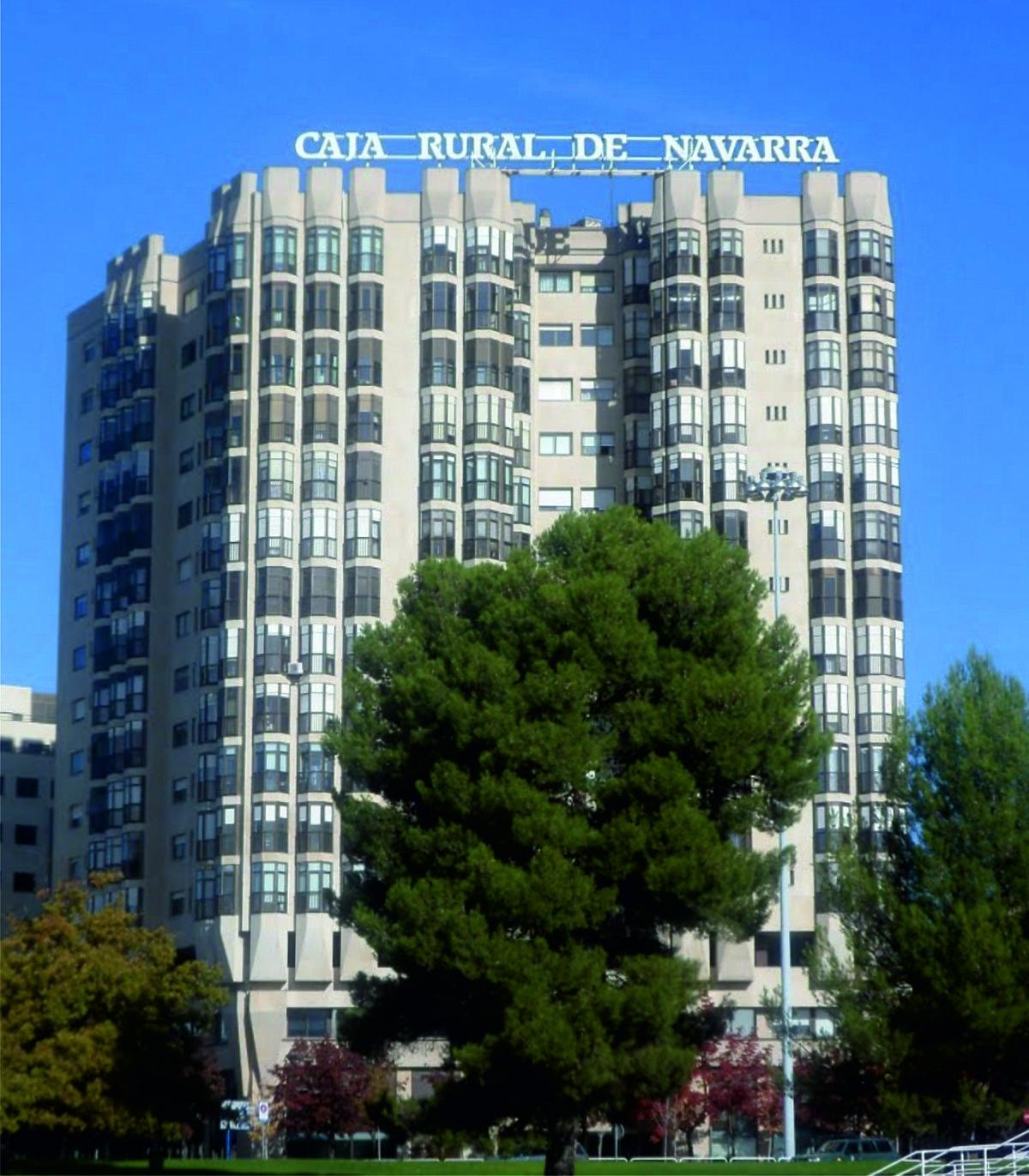 Caja rural de navarra wikipedia la enciclopedia libre for Caja rural de navarra oficinas