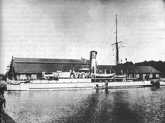 Flat-iron gunboat - Wespe-class gunboat SMS Natter