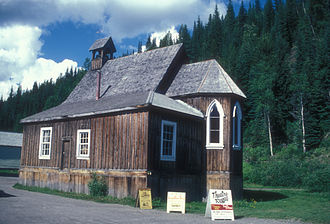 Barkerville, British Columbia - St. Saviour's Anglican Church