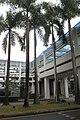SZ Shenzhen 南山 Nanshan 春華路 Chunhua Road 清華大學 深圳研究生院 Graduate School at Tsinghua University Town 深圳大學城 Feb-2018 IX1 campus footbridge 02.jpg