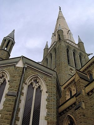 Sacred Heart Cathedral, Bendigo - Image: Sacred heart cathedral bendigo