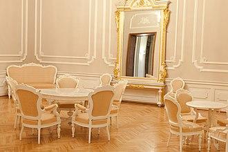House of the Livonian Noble Corporation - Image: Saeimas Dzeltenā zāle Flickr Saeima (2)
