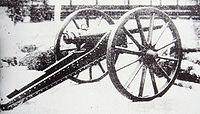 Sagahan Armstrong gun used at the Battle of Ueno against the Shogitai 1868.jpg