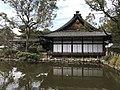 Saikan Hall and Pond of Sumiyoshi Grand Shrine.jpg