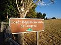 Saint-Just-d'Avray - Panneau forêt départementale de Longeval (sept 2018).jpg