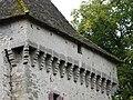 Saint-Pierre-de-Frugie château Frugie mâchicoulis.JPG