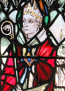 Aidan of Lindisfarne 7th-century Bishop of Lindisfarne and saint