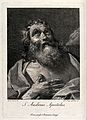 Saint Andrew. Engraving by D. Cunego, 1775, after G.C. Cagna Wellcome V0033412.jpg