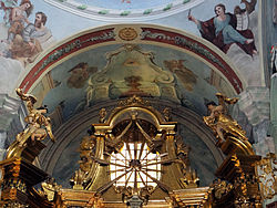 Saint Anne church in Lubartów - Interior - 07.jpg