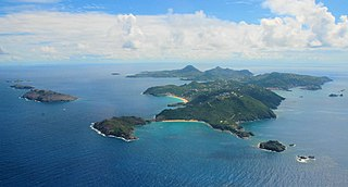 Caribbean Sea island