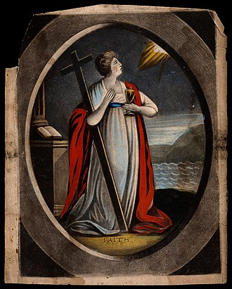 Saint Faith - Depiction of St. Faith