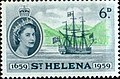 Saint Helena-British Colonial Tercentenary 1959 6d.jpg