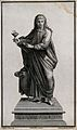Saint John the Evangelist. Line engraving by S. Bianchi afte Wellcome V0032383.jpg