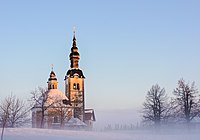 Saint Trinity church in Vinji vrh (32363554705).jpg